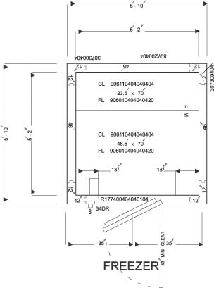 Sample View Plan Freezer